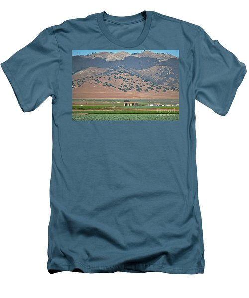 Men's T-Shirt (Slim Fit) featuring the photograph View From The Crops by Susan Wiedmann