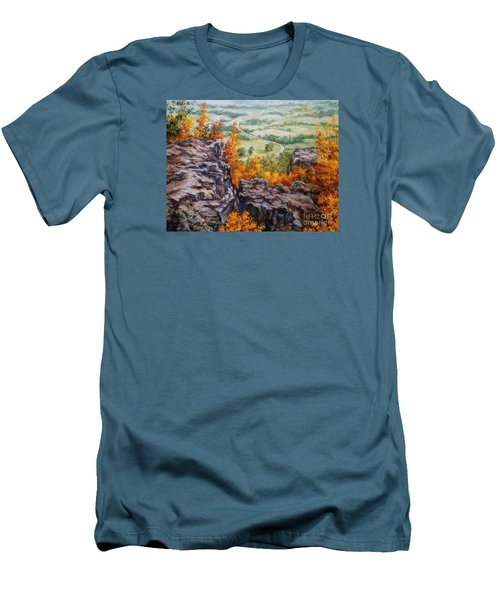 View From The Point Petit Jean Men's T-Shirt (Athletic Fit)