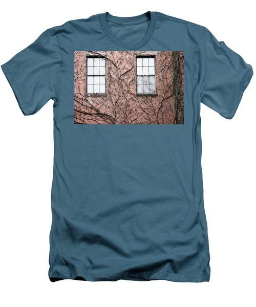 Vines And Brick Men's T-Shirt (Athletic Fit)