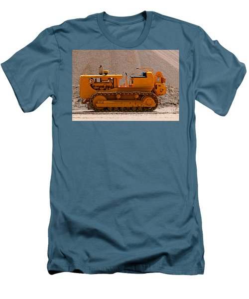 Vintage Bulldozer Men's T-Shirt (Athletic Fit)