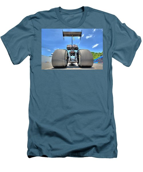 Men's T-Shirt (Slim Fit) featuring the photograph Vintage Drag Racer by Gianfranco Weiss