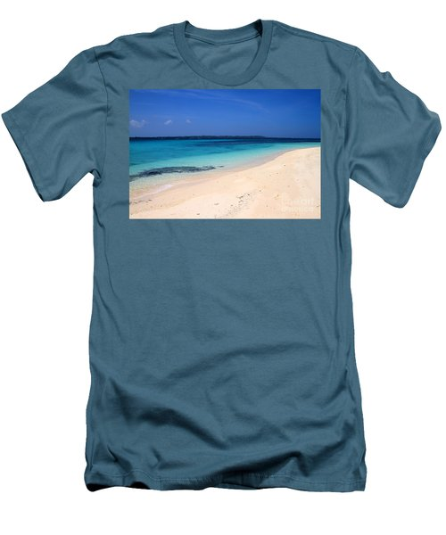 Men's T-Shirt (Slim Fit) featuring the photograph Virgin Island Cebu by Joey Agbayani