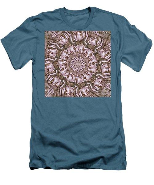 Vladimir Ilyich Lenin Mandala Men's T-Shirt (Athletic Fit)