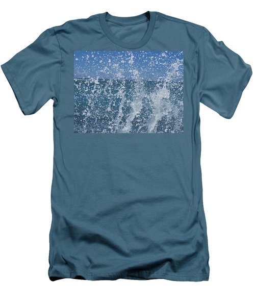 #waikiki Backsplash Men's T-Shirt (Athletic Fit)