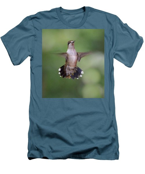 Waiting For A Turn Men's T-Shirt (Slim Fit) by Amy Porter