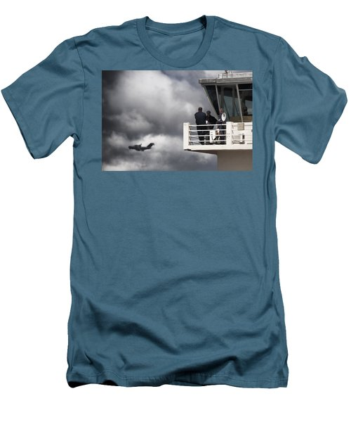Waiting For You Men's T-Shirt (Slim Fit) by Paul Job