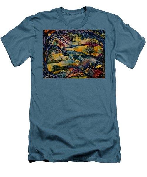 Wandering Woods Men's T-Shirt (Athletic Fit)