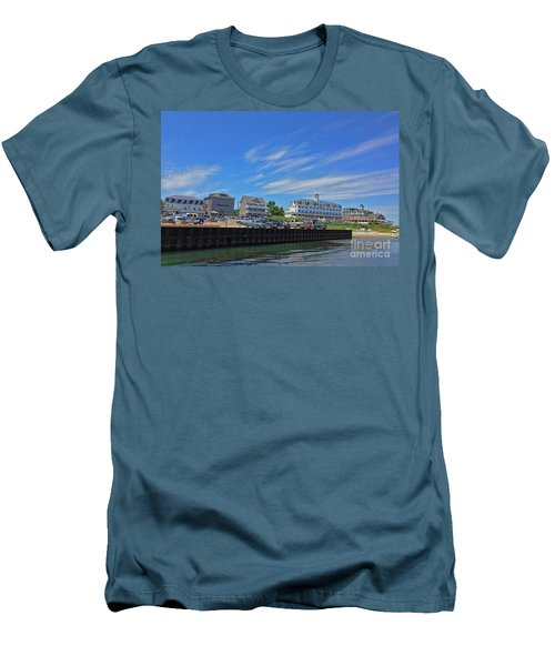 Water Street Block Island Men's T-Shirt (Athletic Fit)