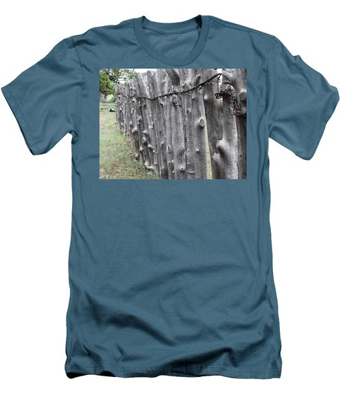 Men's T-Shirt (Slim Fit) featuring the photograph Weathered by Natalie Ortiz