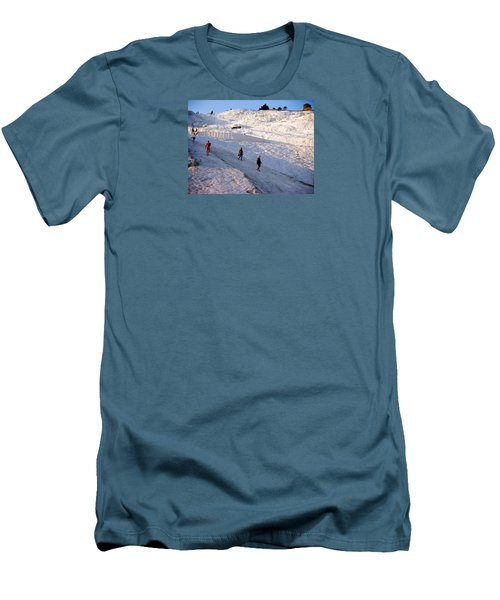 Men's T-Shirt (Slim Fit) featuring the photograph What Is Wrong In This Picture by Zafer Gurel