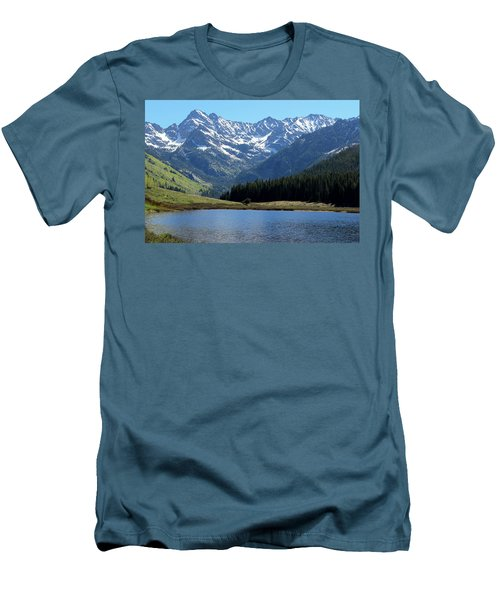Beautiful Colorado Men's T-Shirt (Slim Fit) by Fiona Kennard