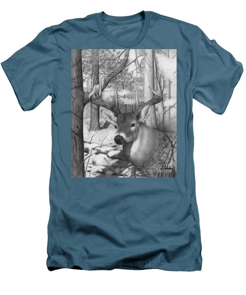 Whitetail Phantom Men's T-Shirt (Slim Fit)