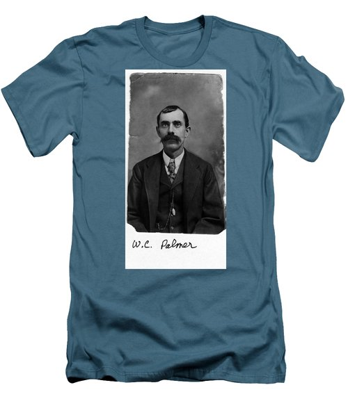 Men's T-Shirt (Slim Fit) featuring the photograph William Calvin Palmer by Karon Melillo DeVega
