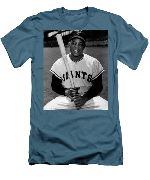 Willie Mays Men's T-Shirt (Athletic Fit)