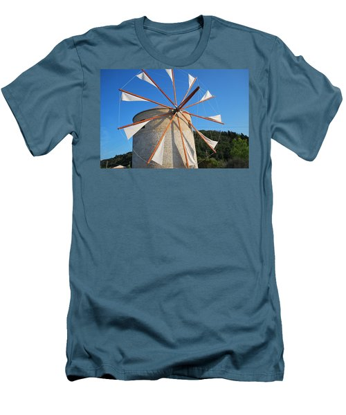 Windmill  2 Men's T-Shirt (Athletic Fit)