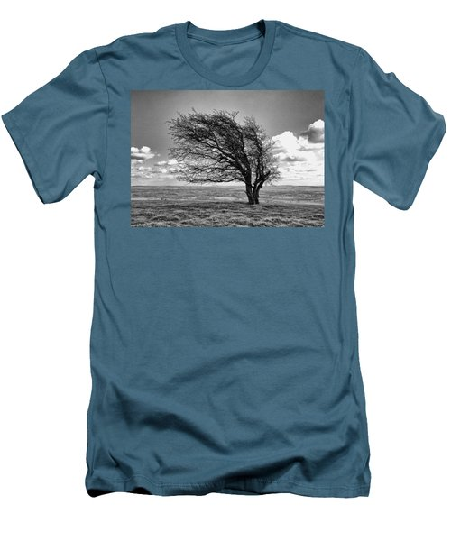Windswept Tree On Knapp Hill Men's T-Shirt (Athletic Fit)