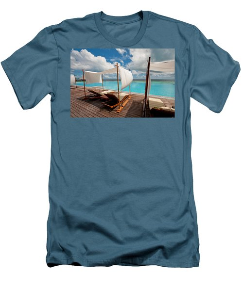 Windy Day At Maldives Men's T-Shirt (Athletic Fit)