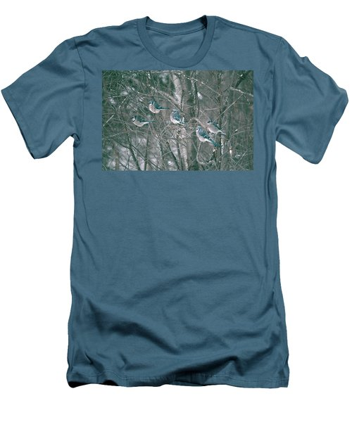Men's T-Shirt (Slim Fit) featuring the photograph Winter Conference by David Porteus