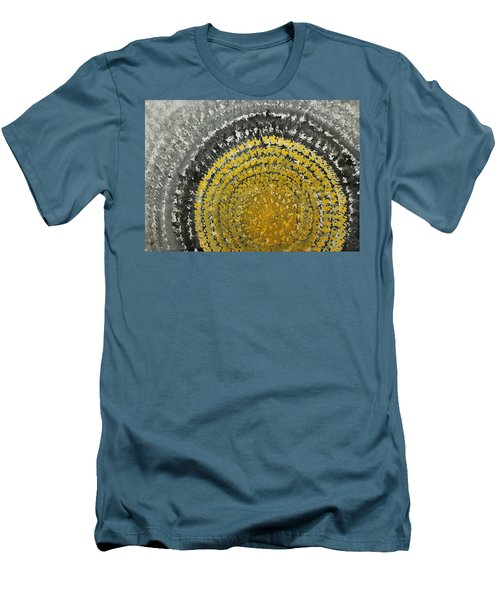 Winter Sun Original Painting Men's T-Shirt (Athletic Fit)