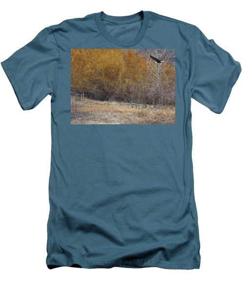 Winter Thaw Men's T-Shirt (Slim Fit) by Ed Hall