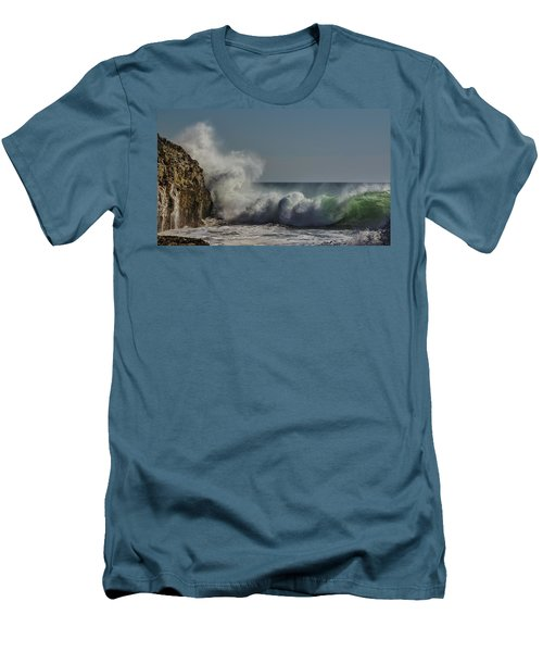 Winter Waves Men's T-Shirt (Athletic Fit)