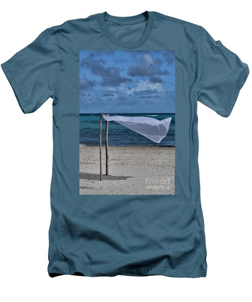 With The Wind Men's T-Shirt (Athletic Fit)