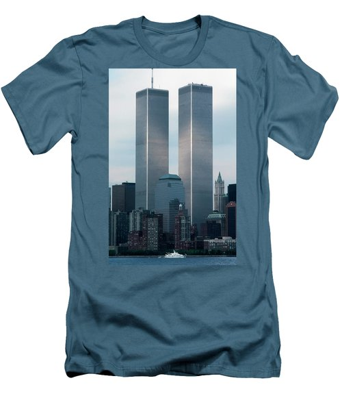 World Trade Center Men's T-Shirt (Athletic Fit)