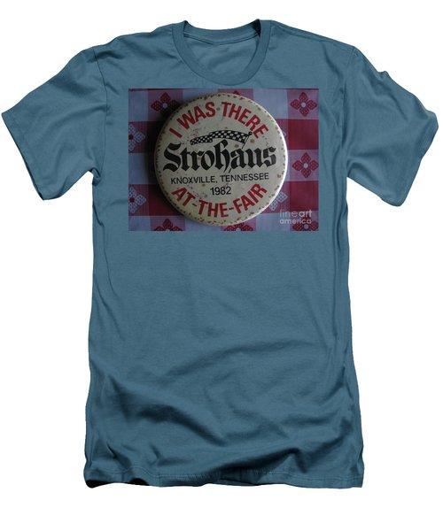 Men's T-Shirt (Slim Fit) featuring the photograph Worlds Fair by Michael Krek
