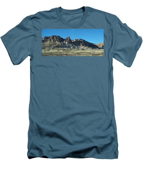 Men's T-Shirt (Slim Fit) featuring the photograph Western Landscape by Eunice Miller