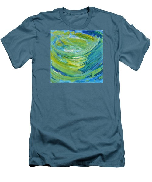 Men's T-Shirt (Slim Fit) featuring the painting Worship by Cassie Sears