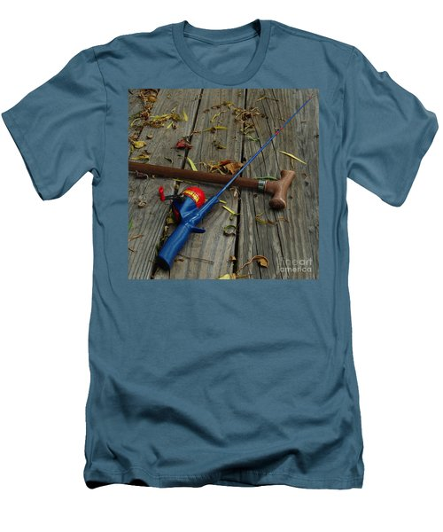 Men's T-Shirt (Slim Fit) featuring the photograph Wrapped In Time by Peter Piatt