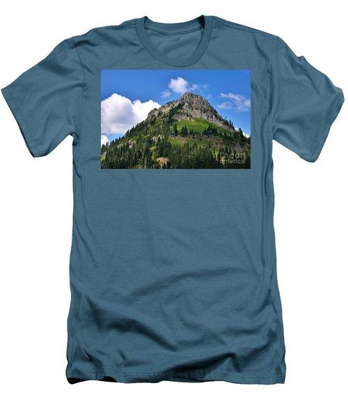 Yakima Peak Men's T-Shirt (Slim Fit) by Sean Griffin