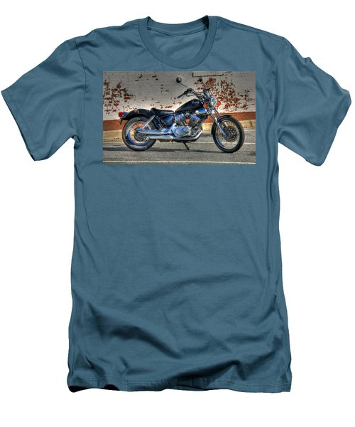 Men's T-Shirt (Slim Fit) featuring the photograph Yamaha Virago 01 by Andy Lawless