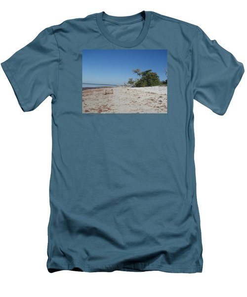 Men's T-Shirt (Slim Fit) featuring the photograph Ye Olde Pirates Chest by Robert Nickologianis