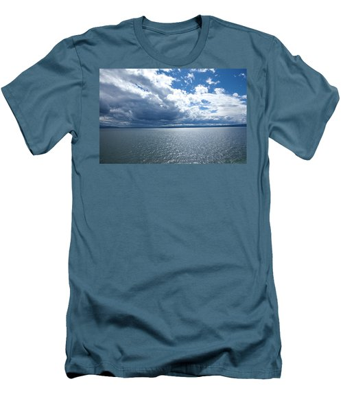 Yellowstone Lake Men's T-Shirt (Athletic Fit)