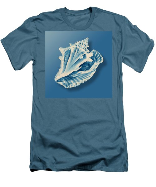 X-ray Of A Conch Shell Men's T-Shirt (Athletic Fit)