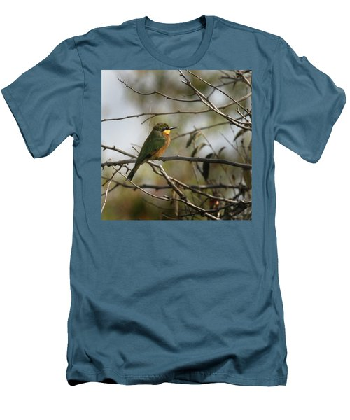African Bee Eater Men's T-Shirt (Athletic Fit)