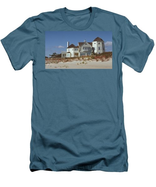 Beach House Men's T-Shirt (Slim Fit) by Mark Greenberg