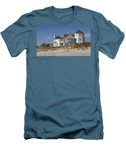 Beach House Men's T-Shirt (Athletic Fit)