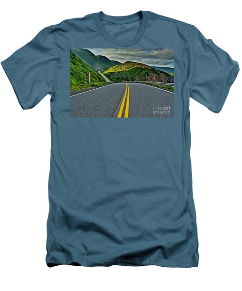 Cabot Trail Men's T-Shirt (Athletic Fit)