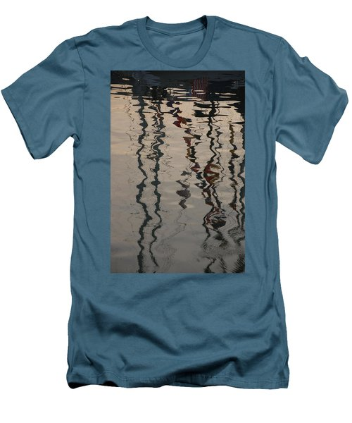 Port Huron To Mackinac Race Men's T-Shirt (Slim Fit) by Randy J Heath