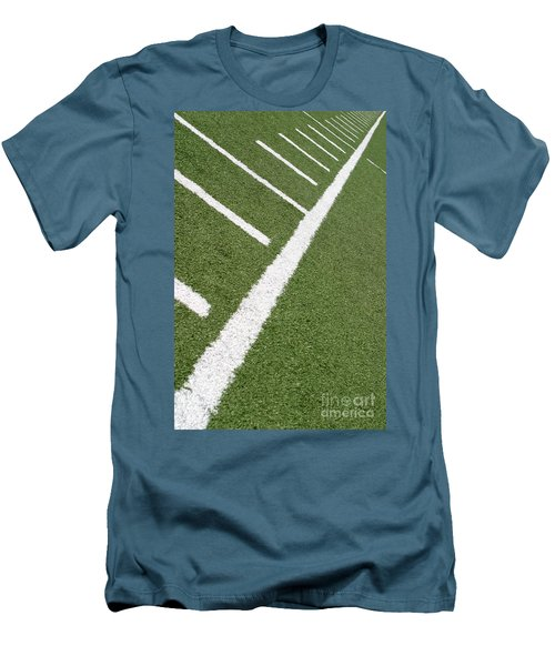 Men's T-Shirt (Slim Fit) featuring the photograph Football Lines by Henrik Lehnerer