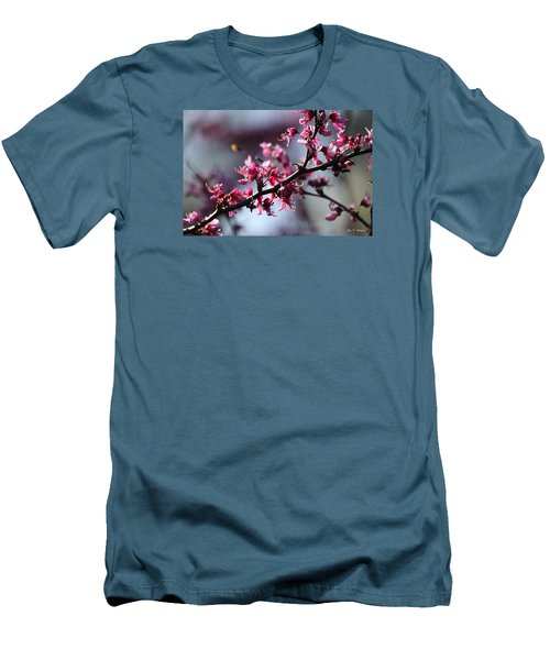 A Hint Of Spring  Men's T-Shirt (Slim Fit) by Amy Gallagher