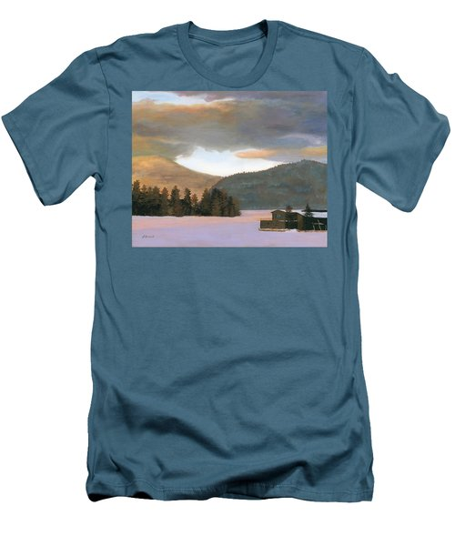 Adirondack Morning Men's T-Shirt (Athletic Fit)