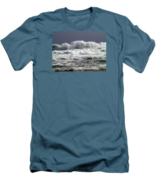 Aftermath Of A Storm Iv Men's T-Shirt (Slim Fit) by Patricia Griffin Brett