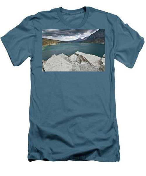 Afternoon At St. Mary Lake Men's T-Shirt (Athletic Fit)