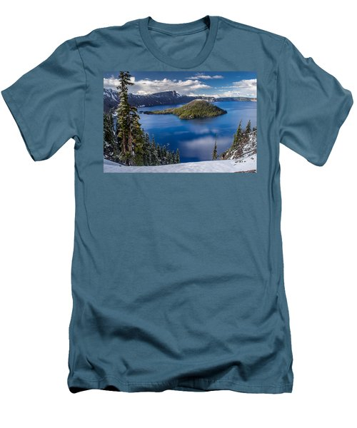 Afternoon Clearing At Crater Lake Men's T-Shirt (Athletic Fit)