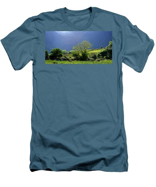 Men's T-Shirt (Slim Fit) featuring the photograph Against The Light by Barbara Walsh