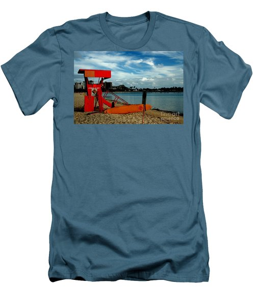 Ala Moana Men's T-Shirt (Athletic Fit)