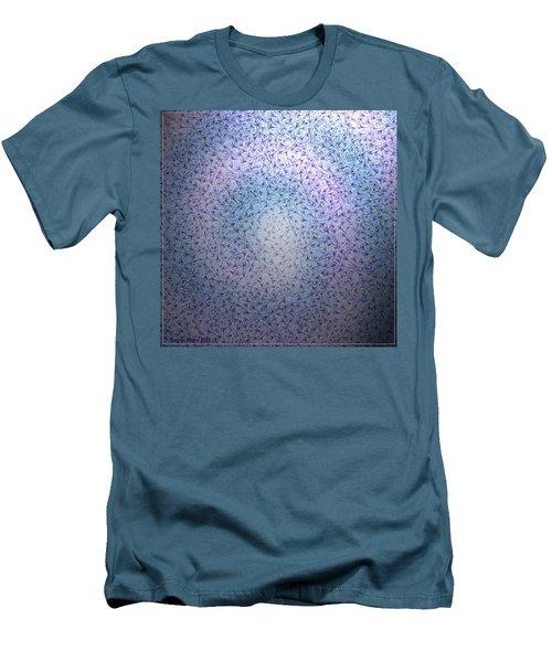 Men's T-Shirt (Slim Fit) featuring the digital art Alien Skin by George Pedro